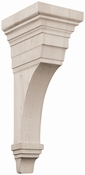 01607010CH1 Full Arts and Crafts Wood Corbel Cherry
