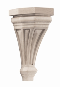 01607116HM1 Pinnacle Wood Corbel Small Hard Maple