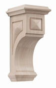 01607117WL1 Apex Wood Corbel Small Walnut