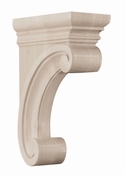 01607215WL1 Madeline Wood Corbel Medium Walnut
