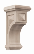 01607217WL1 Apex Wood Corbel Medium Walnut