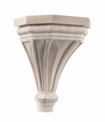 01607316HM1 Pinnacle Wood Corbel Large Hard Maple