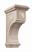 01607317WL1 Apex Wood Corbel Large Walnut