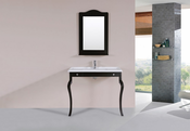 "40"" Marina Espresso Single Traditional ADA Bathroom Vanity with Integrated Sink<br>by Pacific Collection"