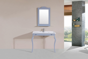 "40"" Marina Gray Single Traditional ADA Bathroom Vanity with Integrated Sink<br>by Pacific Collection"