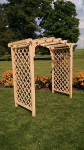 A & L Furniture - 5' Jamesport Arbor - 1505C - Western Red Cedar