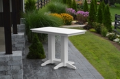A & L Furniture - 5' Bar Table - 5101 - White Poly
