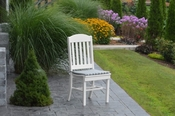 A & L Furniture - Classic Dining Chair - 4100 - White Poly