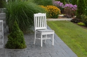 A & L Furniture - Royal Dining Chair - 4102 - White Poly