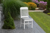 A & L Furniture - Traditional Dining Chair - 4101 - White Poly
