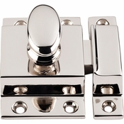 "Top Knobs - Additions Collection - Cabinet Latch 2"" - Polished Nickel - M1784"