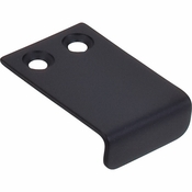 "Top Knobs - Additions Collection - Tab Pull 1"" - Flat Black - TK101BLK"