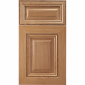 Beech Mitered Cabinet Door<br>Raised Panel<br>Series F12-P11 Unfinished