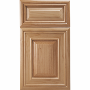Poplar Mitered Cabinet Door<br>Raised Panel<br>Series F15-P6 Unfinished