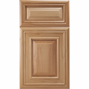 Beech Mitered Cabinet Door<br>Raised Panel<br>Series F15-P6 Unfinished