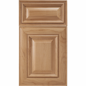 Beech Mitered Cabinet Door<br>Raised Panel<br>Series F17-P5 Unfinished