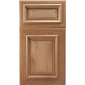 Beech Mitered Cabinet Door<br>Raised Panel<br>Series F18-P12 Unfinished