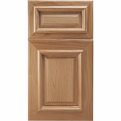 Beech Mitered Cabinet Door<br>Raised Panel<br>Series F19-P4 Unfinished