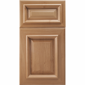 Beech Mitered Cabinet Door<br>Raised Panel<br>Series F20-P6 Unfinished