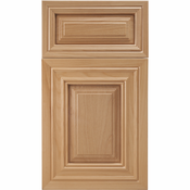 Beech Mitered Cabinet Door<br>Raised Panel<br>Series F27-P12 Unfinished