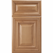 Beech Mitered Cabinet Door<br>Raised Panel<br>Series F28-P5 Unfinished