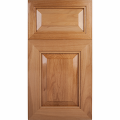 Soft Maple Mitered Cabinet Drawer<br>Raised Panel<br>Series R49-P3 Unfinished