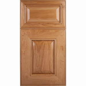 Soft Maple Mitered Cabinet Door<br>Raised Panel<br>Series F53-P6 Unfinished