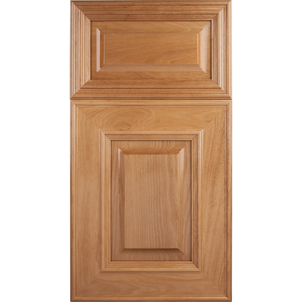 Soft Maple Mitered Cabinet Door Raised Panel Series F60 P4 Unfinished Soft Maple Select