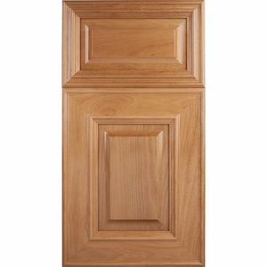 Soft Maple Mitered Cabinet Door<br>Raised Panel<br>Series F60-P4 Unfinished