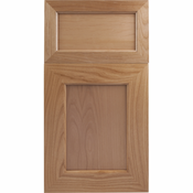 Beech Mitered Cabinet Door<br>Recessed Panel<br>Series F23-P1 Unfinished