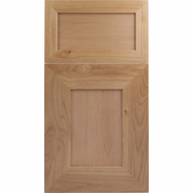 Beech Mitered Cabinet Door<br>Recessed Panel<br>Series F24-P1 Unfinished