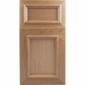 Beech Mitered Cabinet Door<br>Recessed Panel<br>Series F25-P1 Unfinished