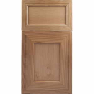 Soft Maple Mitered Cabinet Door<br>Recessed Panel<br>Series F3-P1 Unfinished