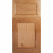 Beech Mitered Cabinet Door<br>Recessed Panel<br>Series F31-P1 Unfinished