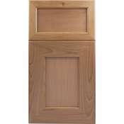 Beech Mitered Cabinet Door<br>Recessed Panel<br>Series F34-P1 Unfinished