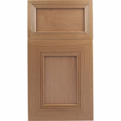 Beech Mitered Cabinet Door<br>Recessed Panel<br>Series F38-P1 Unfinished