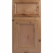 Soft Maple Mitered Cabinet Drawer<br>Recessed Panel<br>Series R42-P1 Unfinished