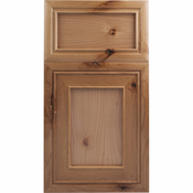 Beech Mitered Cabinet Door<br>Recessed Panel<br>Series F47-P1 Unfinished