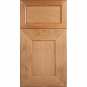 Beech Mitered Cabinet Door<br>Recessed Panel<br>Series F55-P1 Unfinished
