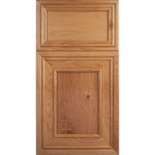 Beech Mitered Cabinet Door<br>Recessed Panel<br>Series F58-P1 Unfinished