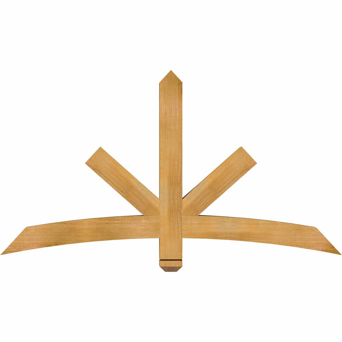 Alberta rough sawn timber gable bracketwestern red cedar for Cedar gable brackets
