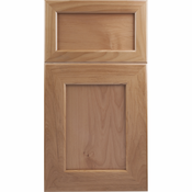Beech Mitered Cabinet Door<br>Recessed Panel<br>Series F2-P1 Unfinished
