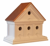 American Woodworking Company Wall Mount Lincoln Birdhouse with Copper Roof - 021212