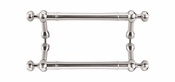 "Top Knobs - Appliance Collection - Somerset Weston Back to Back Door Pull 8"" (c-c) - Brushed Satin Nickel - M830-8 PAIR"