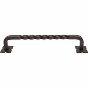"Top Knobs - Appliance Collection - Normandy Twist Appliance Pull 12"" (c-c) - Patina Rouge - M1245-12"
