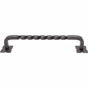"Top Knobs - Appliance Collection - Normandy Twist Appliance Pull 12"" (c-c) - Pewter - M1247-12"