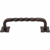 "Top Knobs - Appliance Collection - Normandy Twist Appliance Pull 8"" (c-c) - Patina Rouge - M1245-8"