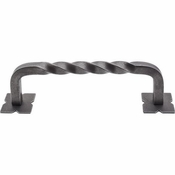 "Top Knobs - Appliance Collection - Normandy Twist Appliance Pull 8"" (c-c) - Pewter - M1247-8"