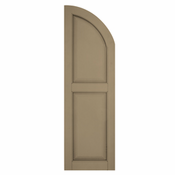 Arch Top Raised Panel Shutter