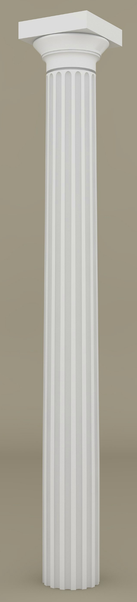 Architectural Wood Column Greek Doric Design 130